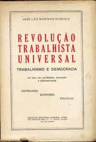 Resultado de imagem para joé Léo Marinho Dionísio Revolução Trabalhista Universal