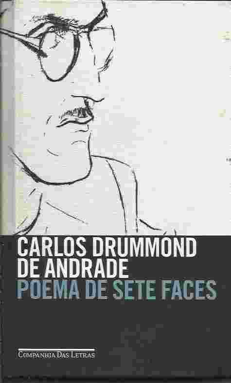 Preferência Livro: Poema de Sete Faces - Carlos Drummond de Andrade | Estante  BM32