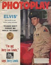 Photoplay October 1958 - Capa Elvis Presley
