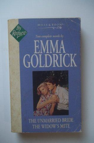 Livro The Unmarried Bride The Widows Mite Ingles Emma Goldrick