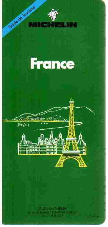 michelin tourisme france