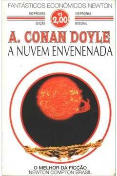 "Capa de ""A Nuvem Envenenada"" - Arthur Conan Doyle"