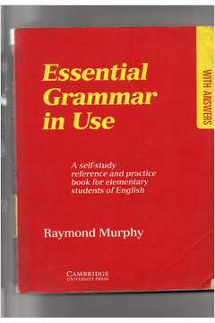 Livro essential grammar in use raymond murphy estante virtual fandeluxe