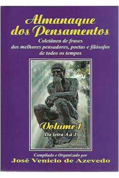 Livro Almanaque Dos Pensamentos Coletanea De Frases Dos Melhores