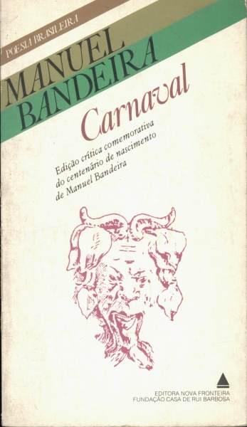 Livro: Carnaval - Manuel Bandeira | Estante Virtual