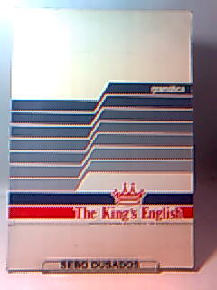 The Kings English - Livro de Gramática