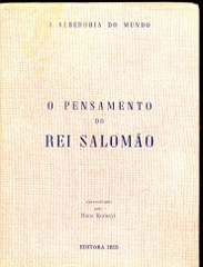 O Pensamento do Rei Salomão
