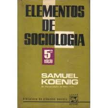 Elementos de Sociologia  5ª Edição