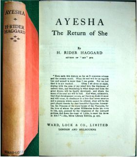 Ayesha - the Return of She