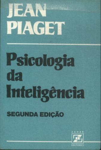 b78274e5e8f Livro  Psicologia da Inteligencia - Jean Piaget