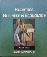 Statistcs For Business & Economics
