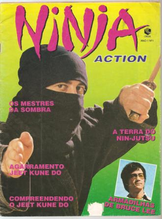 Ninja Action Ano 1 Nº 01