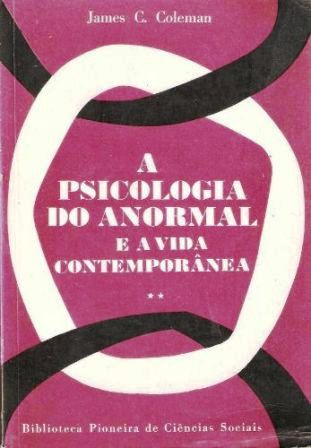 A Psicologia do Anormal e a Vida Contemporanea