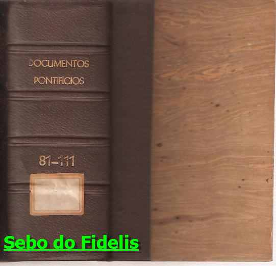 Documentos Pontifícios 81 - 111