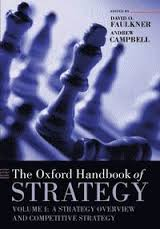Oxford Handbook of Strategy:vol. 1 a Strategy Overview and Competitive