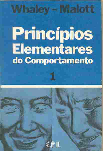 Principios Elemtares do Comportamento Vol 1