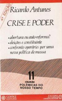 Crise de Poder - Coleção Polêmicas do Nosso Tempo 11