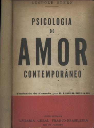 Psicologia do Amor Contemporâneo