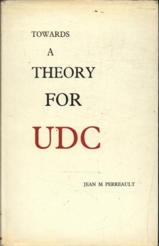 Towards a Theory For Udc