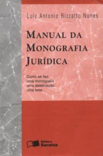 Manual da Monografia Juridica