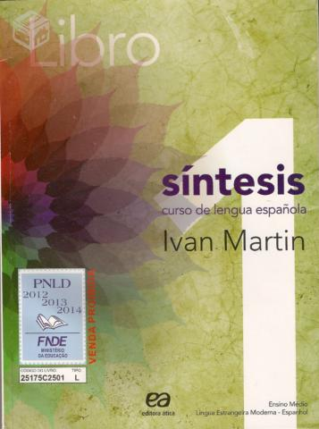 Libro Sintesis Com CD Vol 1 Livro Novo