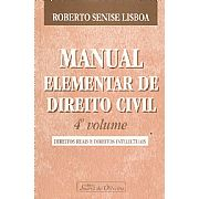 Manual Elementar de Direito Civil - 4ºvolume