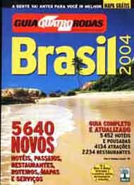 Guia Brasil de Guia Quatro Rodas pela Abril (1985)