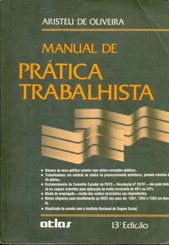 Manual De Pratica Trabalhista Aristeu De Oliveira Pdf