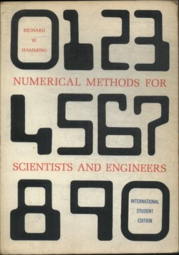 Numerical Methods For Scientists and Engigeers