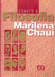 livro convite a filosofia marilena chaui para