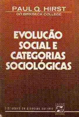 Evolucao Social e Categorias Sociologicas