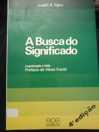 A busca do significado