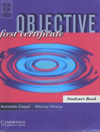 Objective First Certificate Students Book