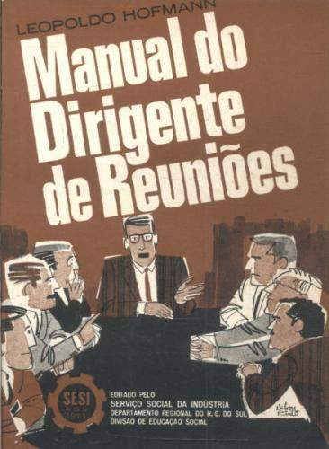 Manual do Dirigente de Reuniões