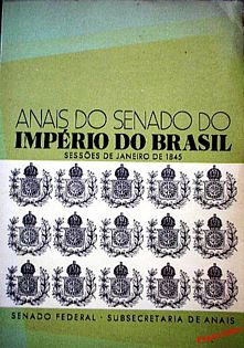 Anais do Senado do Império do Brasil Vol. 1 – Jan 1845