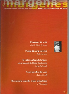 Revista de Cultura Margens / Márgenes N. 9 Jan. Jun. 2007