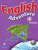 English Adventure, 4 - Students Book With Workbook