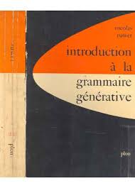 Introduction a La Grammaire Generative