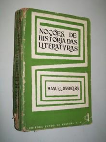 noções de história das literaturas - vol. 1