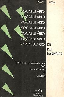 Vocabulario de Rui Barbosa
