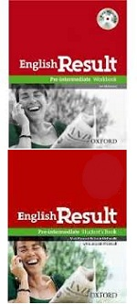 English Result - Pre-intermediate e Pre Students Workbook - 2 Volumes
