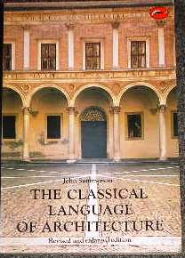 The Classical Language of Architecture