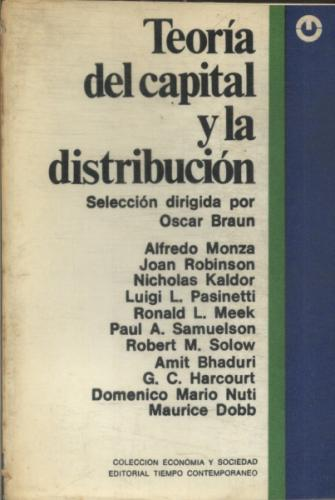 Teoria del Capital y La Distribución