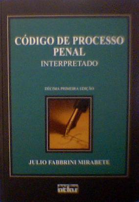 MIRABETE PROCESO PENAL PDF DOWNLOAD