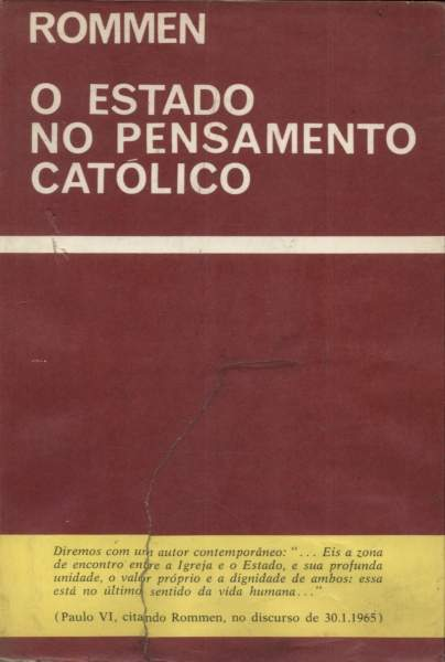 O Estado do Pensamento Católico