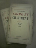 Crime et Chatiment 2 Volumes
