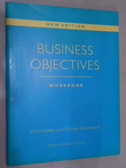 Business Objectives Workbook