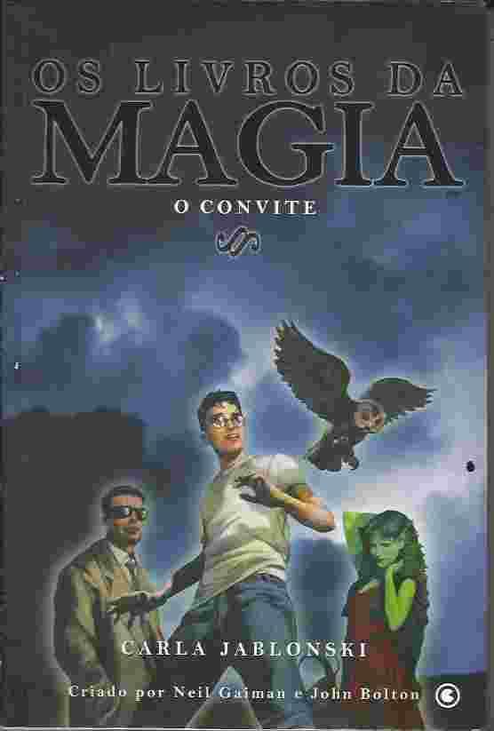 Os Livros da Magia - o Convite