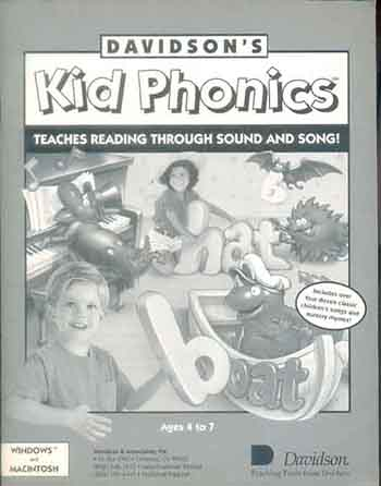 Kid Phonics - Ages 4 to 7