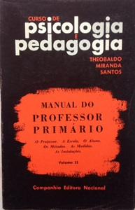 Manual do Professor Primário - Curso de Psicologia e Pedagogia